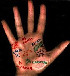La Chiromancie ou   l'interprétation des lignes de mains