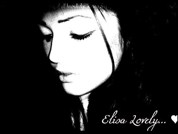 i'm name elisa lovely