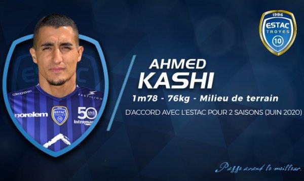 LIGUE 2 : Kashi à Troyes