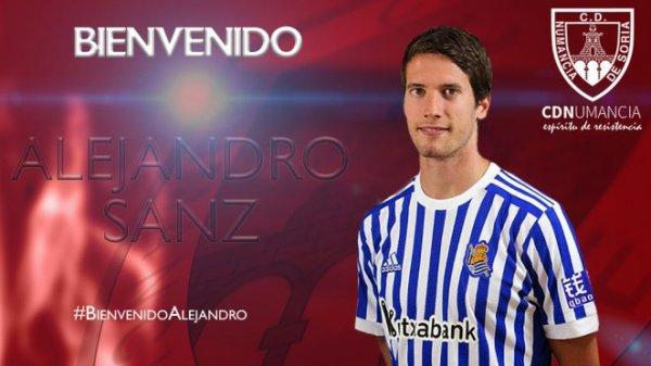 ESPAGNE : A.Sanz (Real Sociedad) en 3éme division