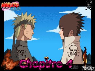 Naruto retrouve Sasuke dans la forêt Chapitre 4