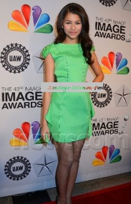 Le 16 Février Zendaya était à la 43ème NAACP Image Awards