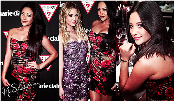 11/11/2011 - GUESS and Marie Claire exclusive dinner in support of Save The Children.