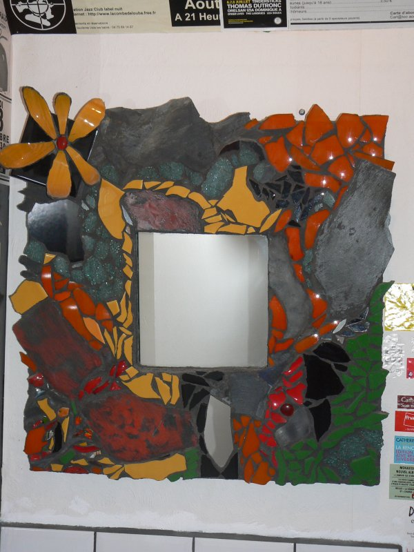 miroirs mosaiques