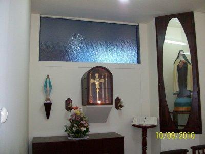 Parroquia Niño Jesus de Praga Capilla de Adoracion Al SANTISIMO SACRAMENTO DEL ALTAR Santa Teresita del Nìño Jesus,