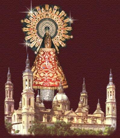 """Se celebra el 12 de Octubre, día de la Hispanidad. """"Santa María del Pilar,"""