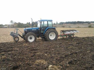 Labour pour les blé 2010
