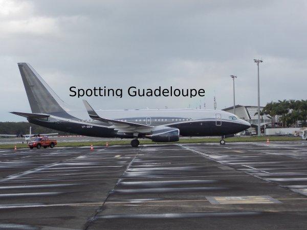 VP-BBW en Guadeloupe
