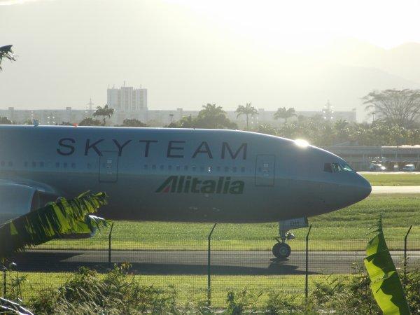 Skyteam Alitalia in Guadeloupe/SKyteam Alitalia en Guadeloupe