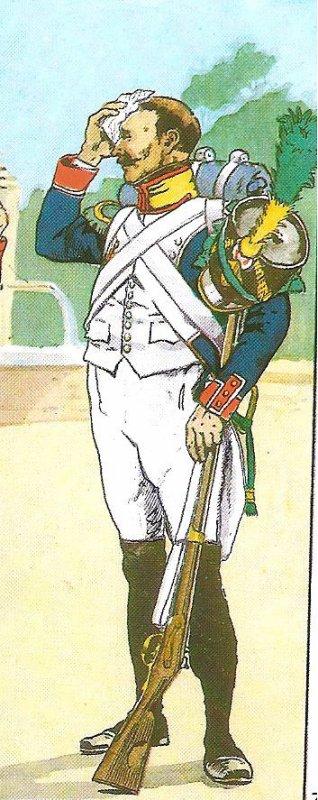 Voltigeur du 67ème Régiment d'Infanterie de Ligne