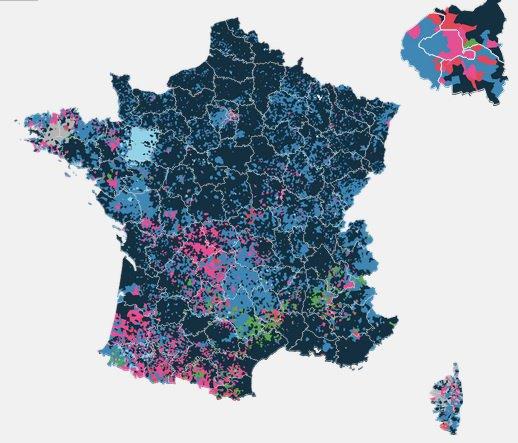 La France au noir...