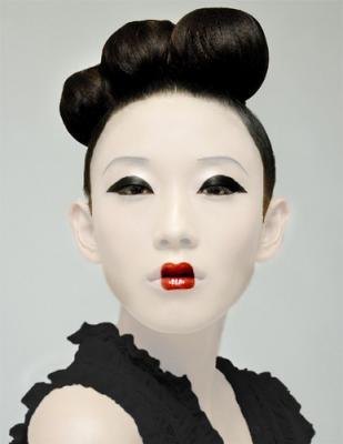 Maquillage Geisha Retouche Photo , Retouche Creabar