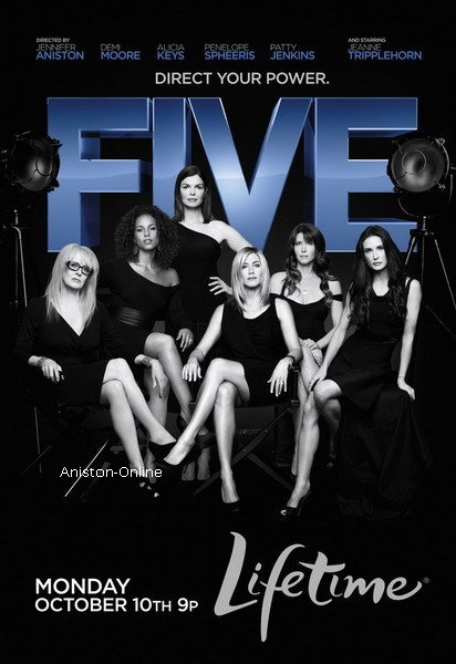 Aniston-Online 2 affiches pour Five