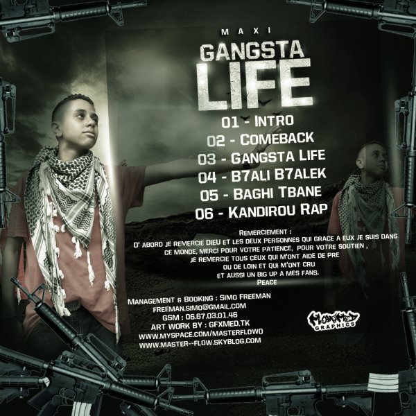 Maxi Gangsta Life