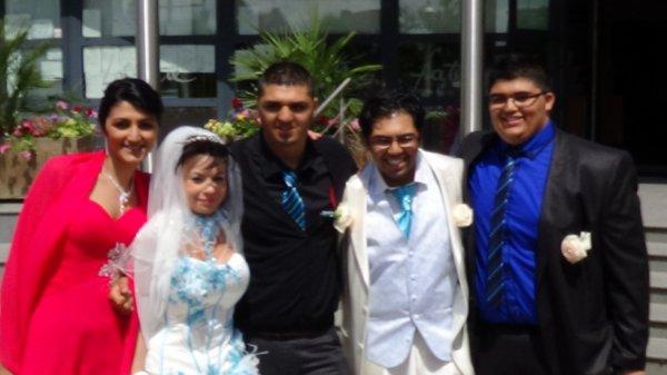 Mes quatre enfants !!! ma fierté