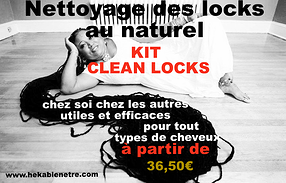 NETTOYAGE DES LOCKS