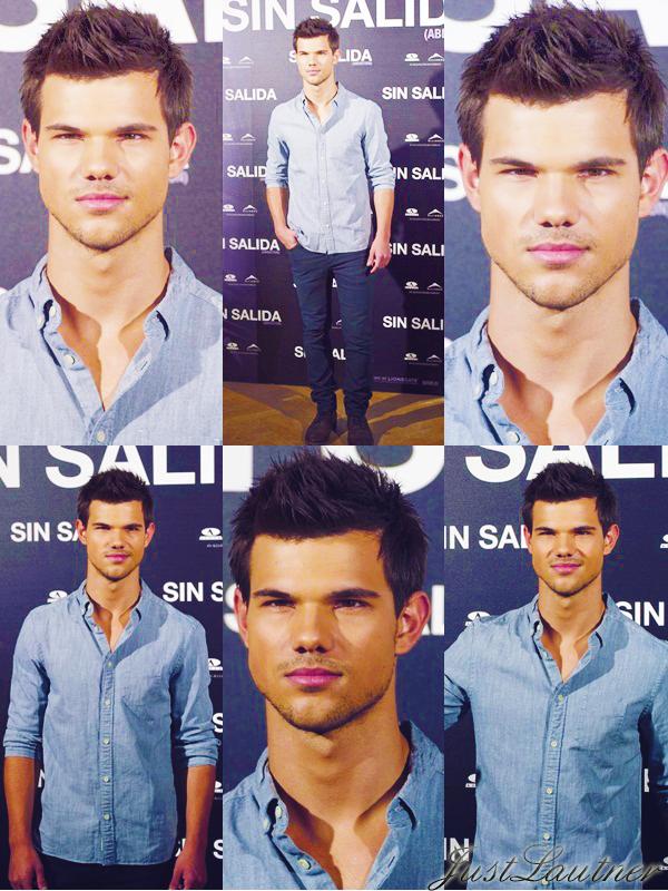 29 Septembre - Taylor à Madrid , Photocall pour Abduction ( Identité Secret )