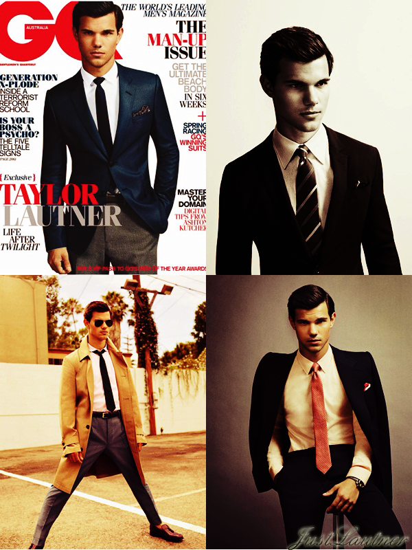 -Photoshoot  de  Taylor dans le magazine GQ  Australie. - Taylor dans le numéro d'Octobre du magazine L'Uomo Vogue.