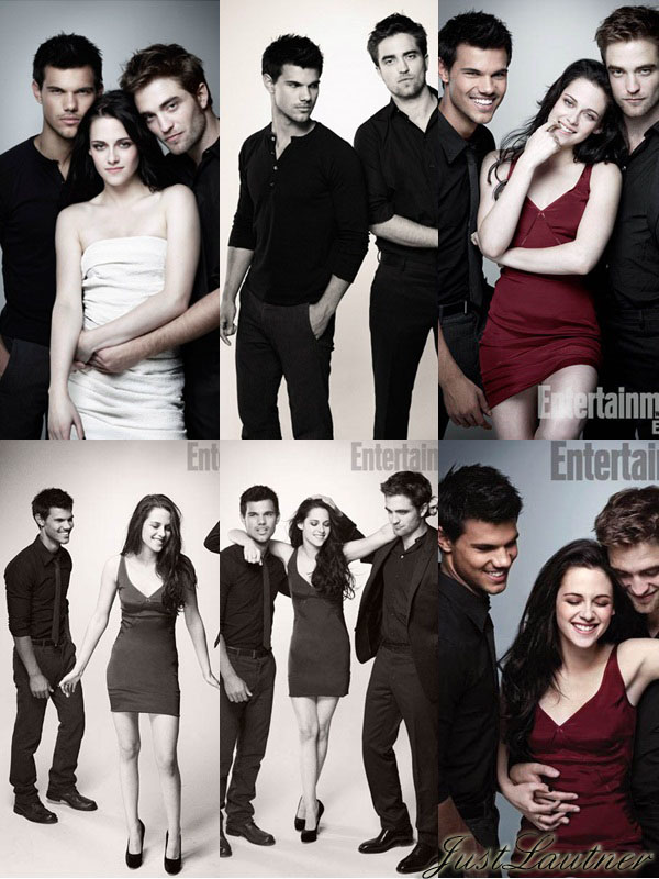 + Photoshoot  du Cast de Twilight pour le magazine Entertainment  Weekly
