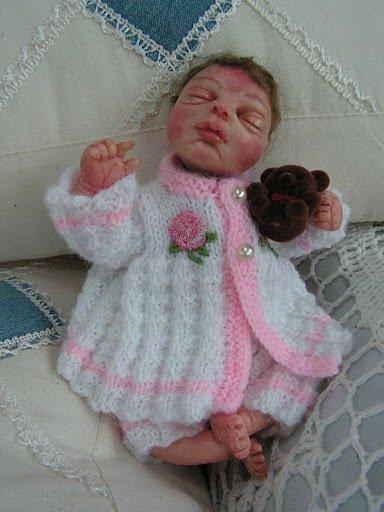 Mini bébé en fimo
