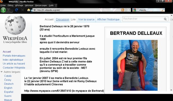 Bertrand sur wikipedia