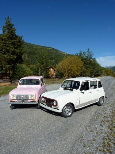 Max et sa Renault 4L