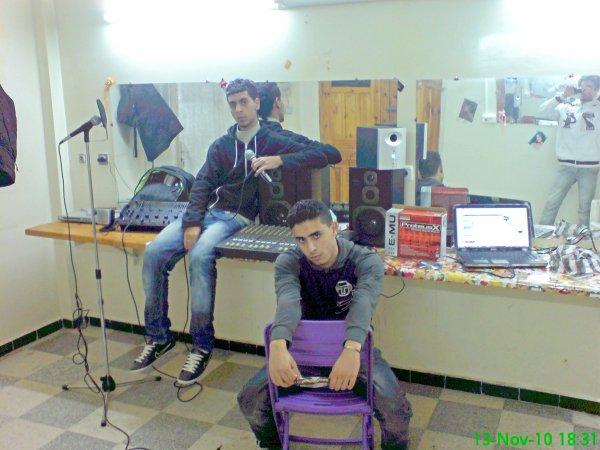 khaled / moi