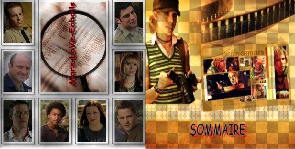 ♣  SOMMAIRE ♠ SAISON 1 ♣