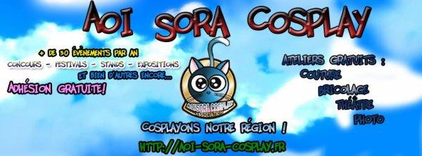 Aoi Sora Cosplay !