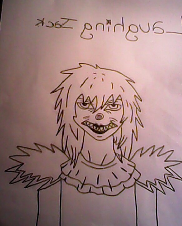 hey! 2eme dessins Creepypasta! Laughing Jack