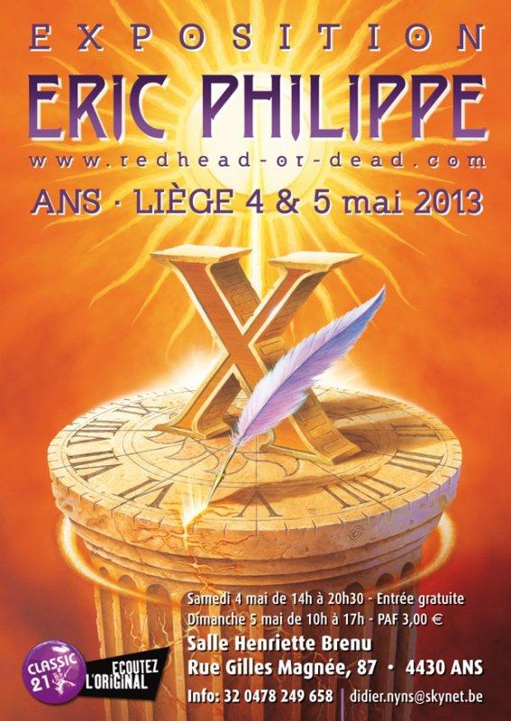Foire du disque Alleur-Expo Eric Philippe 4 et 5 mai 2013