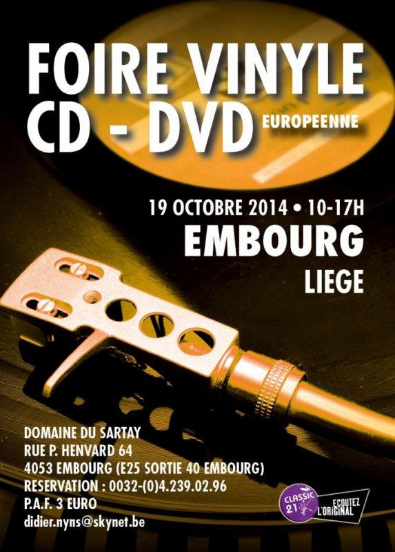 Foire du Vinyle Européenne d'EMBOURG