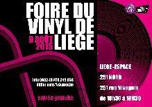 A Liège la prochaine foire du vinyle et cd le 09/08/2015