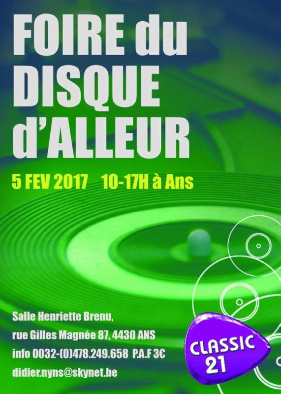Foire du disque d'ALLEUR -05/02/2017.