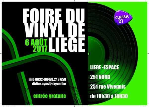Foire du vinyl de Liège le 06 août 2017-