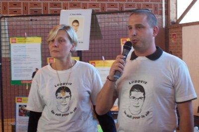 DON D'UN DEFIBRILLATEUR A LA VILLE D'HOUDAIN 62 (dimanche 12 septembre 2010).