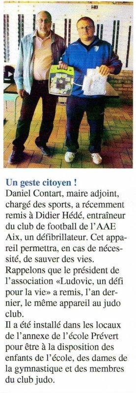Le petit AIXOIS N° 67 OCTOBRE 2010