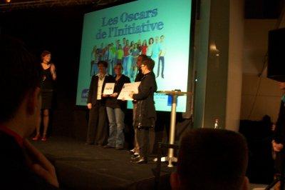 Oscar de l'initiative 2010. L'association de  Ludovic remporte la catégorie SOLIDARITE