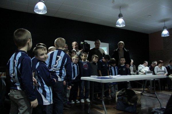 DON D'UN DEFIBRILLATEUR AU CLUB DE FOOTBALL DE L'OLYMPIQUE LIEVIN