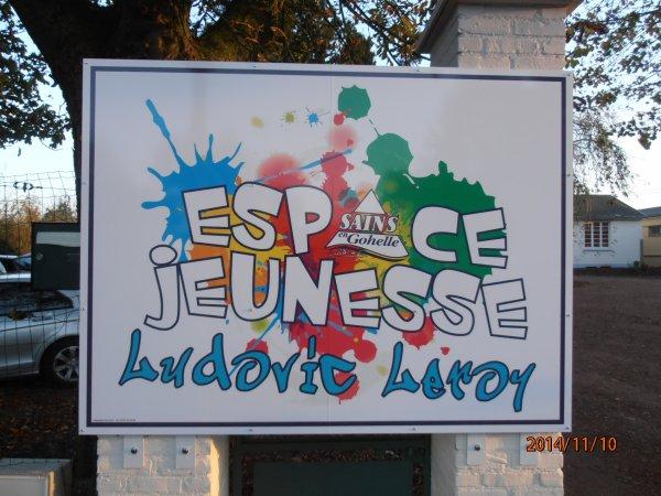 """INAUGURATION DE L'ESPACE JEUNESSE """"LUDOVIC LEROY"""" DE SAINS EN GOHELLE 62"""
