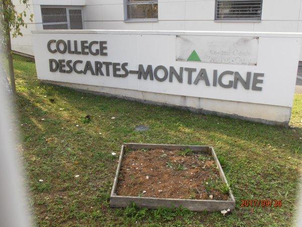 DON D'UN DEFIBRILLATEUR AU COLLEGE DESCARTES MONTAIGNE DE LIEVIN 62.