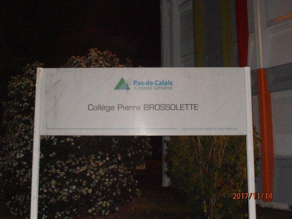 DON D'UN DEFIBRILLATEUR AU COLEGE PIERRE BROSSOLETTE DE NOYELLES SOUS LENS 62-