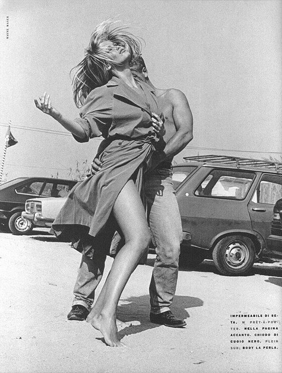 Vogue Italia Novembre 1985 Claudia Schiffer