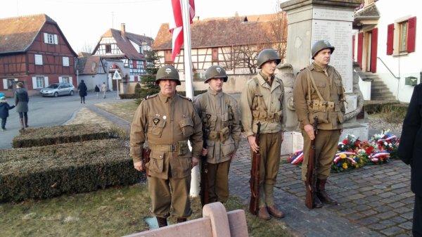 72 anniversaire liberation de jebsheim poche de colmar