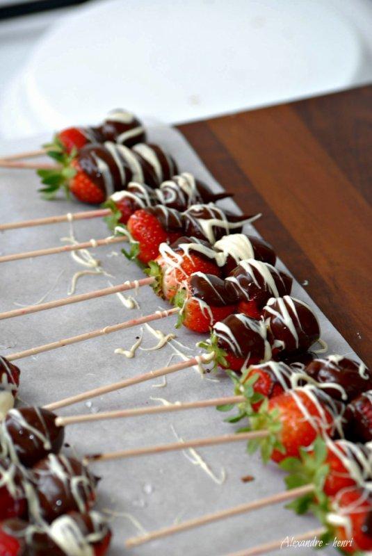 fraise choco