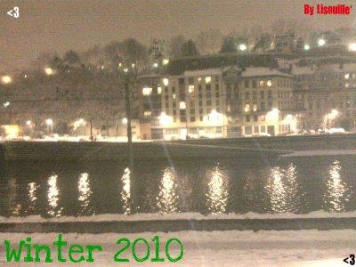 Lyon en neige :D