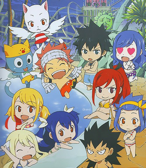 Fairy Tail oav 5 chibi :-)