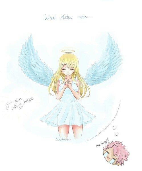 Un ange decendu du ciel pour Natsu <3