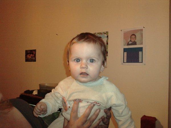 ma fille aléxia 8 mois
