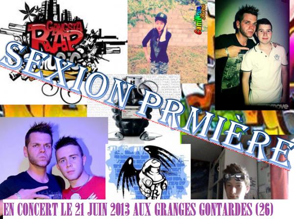 sexion première en concert aux Granges Gontardes le 21 juin 2013